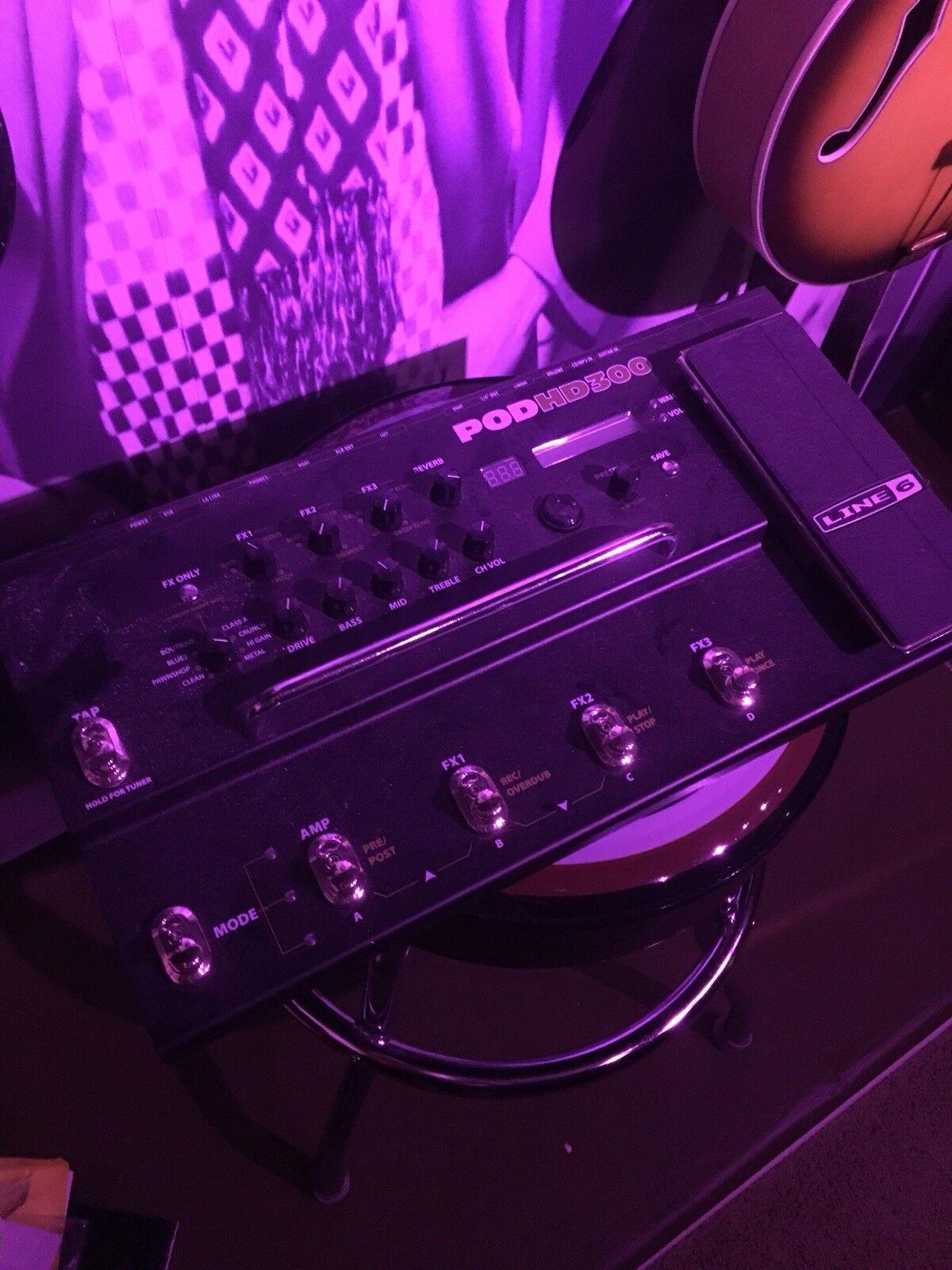 LINE 6 HD300 Guitar effects pedal Distortion Guitar Center Digital