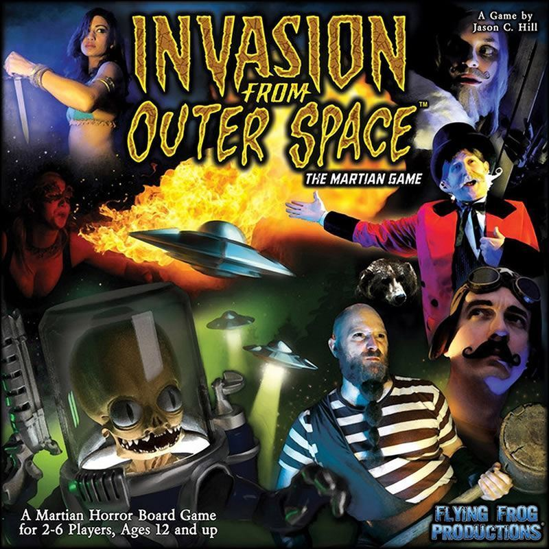 FLYING FROG INVASION FROM OUTER SPACE BOARD GAME