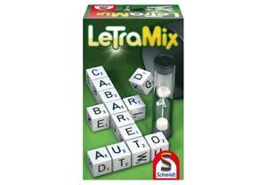 Letra-Mix Kreuzworträtselspiel Wörter bilden Denkspiel Reisespiel Unterhaltung