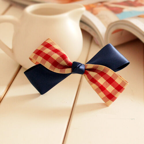 List2 Top Quality New Sorted Cute Hair Bows Lace Girls Bobby Pins Clips Hairware