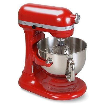 Kitchenaid Pro 6000 Hd Stand Mixer 6 Quart Big Super Red
