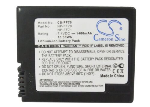 Li-ion Battery for Sony DCR-PC115 DCR-HC1000 DCR-PC105 CCD-TRV118 DCR-IP55 NEW