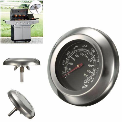 50 ~ 500 Grad Braten Barbecue BBQ Raucher Grill Thermometer Temp Gauge Dia neuZJ