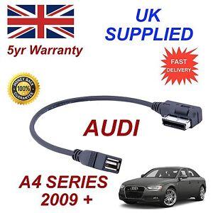 Audi A1 Serie 4F0051510AB MP3 Speicherstick USB-Kabel AMI MMI Original Audi