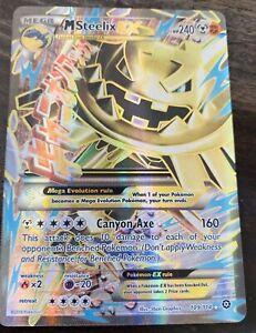 Authentic Mega steelix EX  Full Art Pokemon Card New