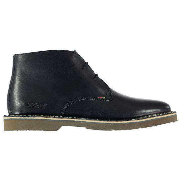 Kickers Kanning Mid Top Zapatos para Hombre Reino Unido Plus 12 ref 3177