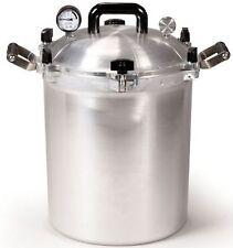 All American 930 30 Qt Heavy Cast Aluminum Pressure Cooker / Canner w/ DVD NEW