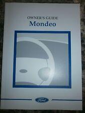Ford Mondeo Mk2 MkII Handbook manual guide  hatch saloon estate 96-00