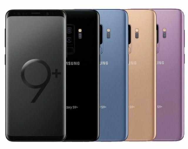 Samsung Galaxy S9+ SMG965U 64GB 4G  Smartphone Unlocked S9 Plus SCRATCHES