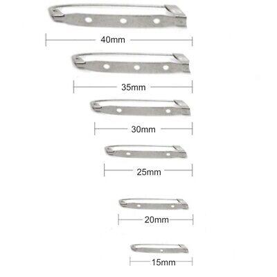 Husillo de acero de vuelta Pines 15mm 20mm 25mm 30mm 35mm /& 40mm CL2 Insignia Pin De La Barra