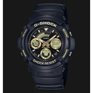 Casio-G-Shock-Standard-Analog-Digital-Black-x-Gold-Accents-Watch-AW591-2ADR