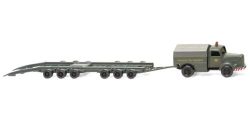 "/""DB/"" grau #059003 WIKING Modell 1:87//H0 LKW Straßenroller Culemeyer MB L 3500"