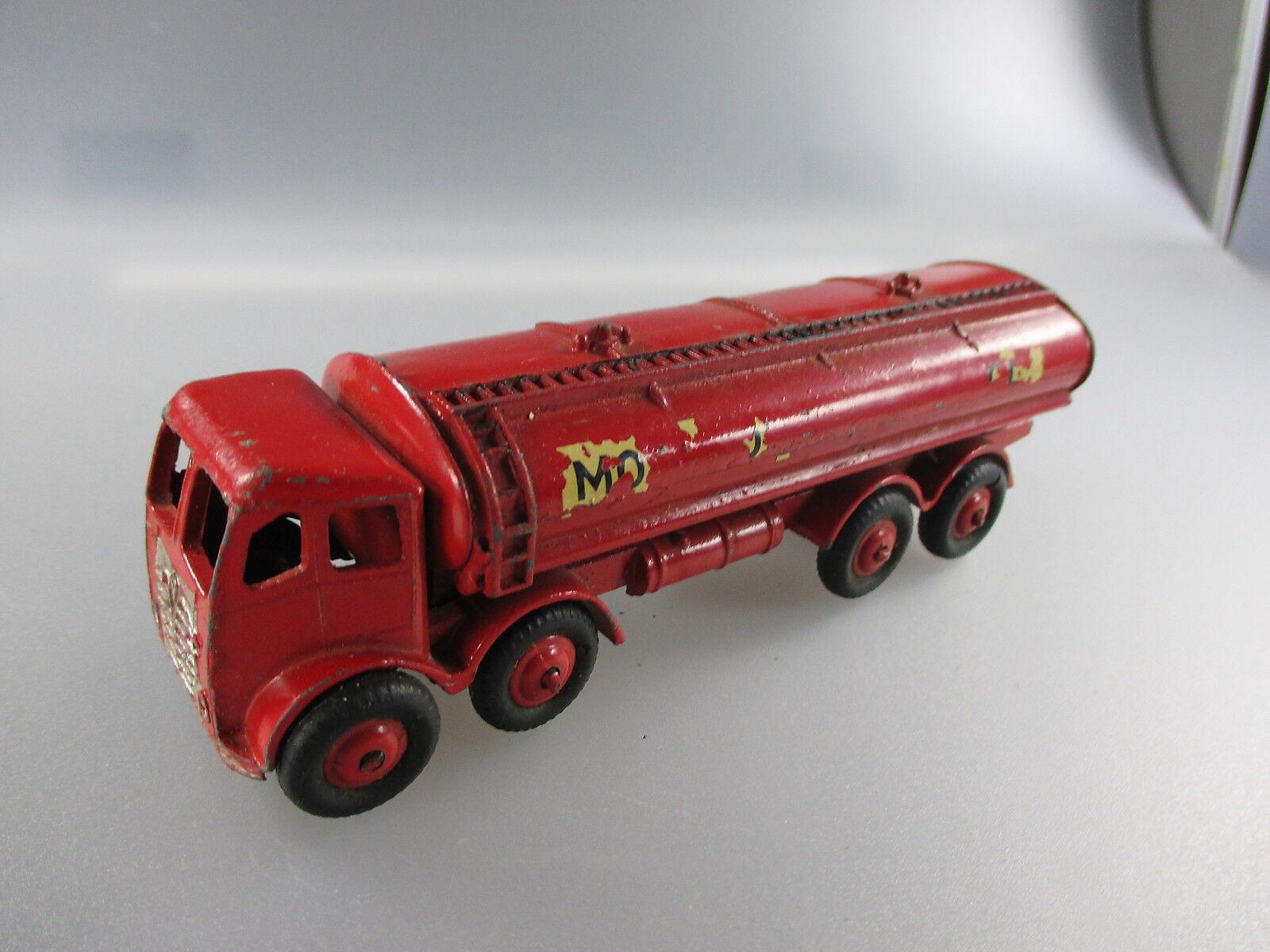 MORESTONE SERIES MADE IN ENGLAND  ESSO camion citerne-FODEN Petrol Tanker (gk75)