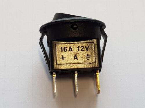 LED Wippschalter grün ein aus 12 Volt Taster Drücker Schalter