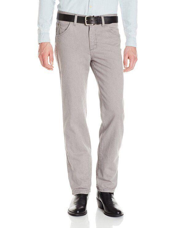 WRANGLER Grey 47MWZSS Premium Performance Advanced Comfort Cowboy Cut No Tax