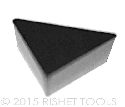 10 PCS RISHET TOOLS TPG 432 C5 Uncoated Carbide Inserts