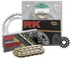 RK - 3076-060E - 525 Steel Chain/Sprocket Kit, Natural