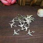 New Charm 15pcs Airplane Tibet Silver Pendant Fit for Bracelet Necklace PJA20