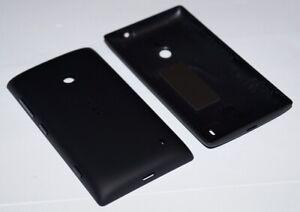Original-Nokia-Lumia-520-Akkudeckel-Battery-Cover-Tasten-Schwarz-black
