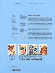 0421-37c-Disney-Friendship-3865-3868a-Souvenir-Page