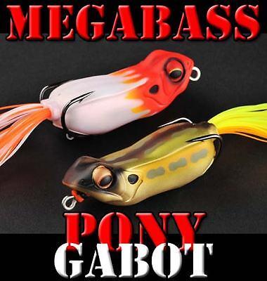 Megabass PONY GABOT topwater frog bass fishing lures