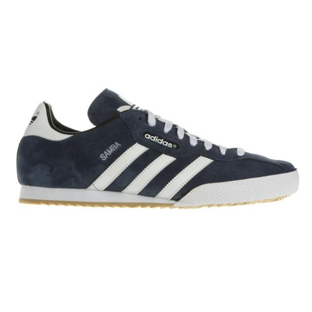 Adidas Samba Super Pelle scamosciata Indoor Calcio Scarpe Trainers UK Sizes IT 42.5