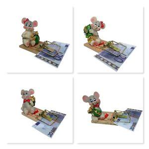 Geldklammer-Maus-Geldgeschenk-Notizclip-Geburtstagsgeschenk