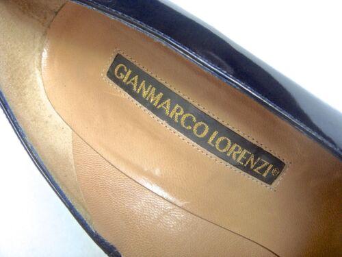 Echtleder 39 Np 479€ Schwarz 38 Lorenzi Schuhe Leder 5 Italy Gianmarco Bxq51wHnSW