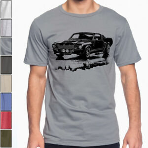 Shelby Mustang Gt500 Eleanor 1967 Retro Style Kids Car T-shirt Clothes, Shoes & Accessories