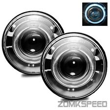 Fits 06-08 Jeep Commander/05-09 Grand Cherokee Clear Halo Projector Fog Lights