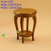 1/12 Dollhouse Miniature Flower Stand Table Doll House Living Room Furniture