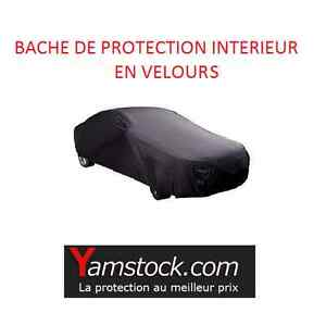 bache housse de voiture d 39 int rieur collection en velours 406x165x119 cm ebay. Black Bedroom Furniture Sets. Home Design Ideas