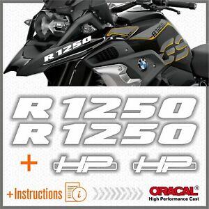 2pcs-R1250-BMW-Bianco-R-1250-GS-2019-HP-Motorrad-ADESIVI-STICKERS-Adventure
