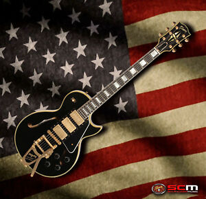 Gibson-Es-Les-Paul-Custom-Shop-Black-Beauty-VOS-Electric-Guitar-with-Bigsby-NEW