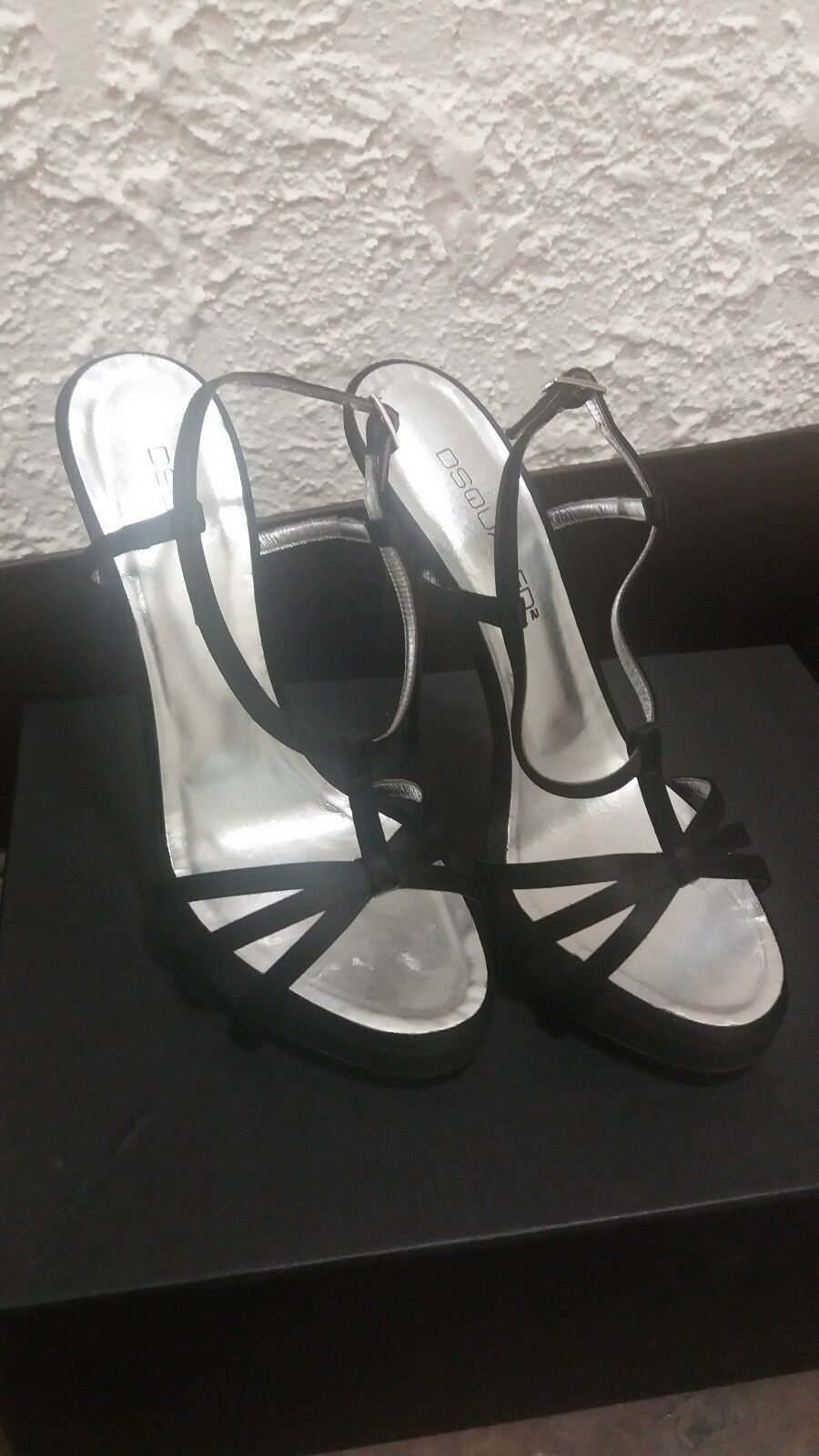 DSQUArouge2 Heels Sandals EU Taille Taille Taille 38B BRAND NEW Original Box US Taille 7.5  299.99 f24dde