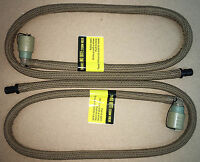 Usmc Source Hydration Replacement Hose Tube W/ Bite Valve Coyote Lot Of Two