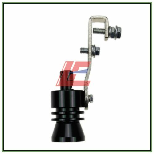 Black Exhaust Pipe BOV Blow off Simulator Whistler Turbo Sound Whistle Muffler