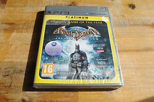 Jeu-BATMAN-ARKHAM-ASYLUM-pour-Playstation-3-PS3-NEUF-VF