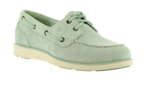 Uk 7 Silt Womens A1gdf Mocassin Eu Lakeville Boat Boat Timberland 40 Green 18qfq