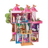 14-Piece KidKraft Storybook Mansion Dollhouse w/Furniture & Accessory Set