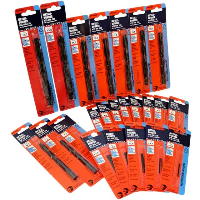 BBW PROFESSIONAL HIGH PRECISION HSS METAL DRILL BITS  MADE IN GERMANY