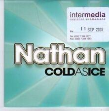 (AQ482) Nathan, Cold As Ice - DJ CD