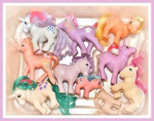 My-Little-Pony-MLP-G1-Vintage-Custom-Bait-TLC-Variety-Mixed-Lot-of-10-Ponies