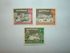 "1962-3 GERMANY BERLIN ""OLD BERLIN"" SERIES STAMPS x 3 MINT HINGED sgB220/24 CV £4"