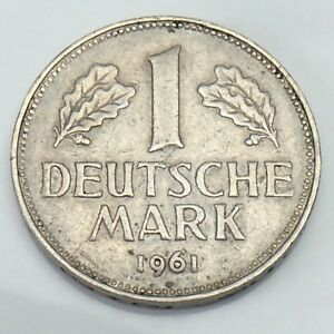Image Is Loading 1961 G Germany One 1 Bundesrepublik Deutschland Deutsche