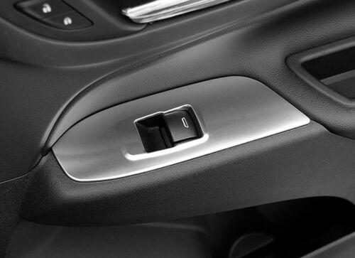 Steel Interior Door Armrest Frame Cover 4pcs For Chevrolet Holden Equinox 18-19