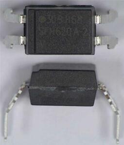 5 x Vishay SFH620A-2 AC Input Transistor Output Optocoupler 4-Pin Wide PDIP