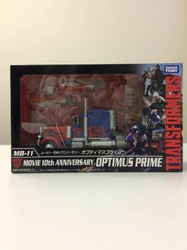 Takara Tomy Transformers MB-11 Movie 10th Anniversary Optimus Prime