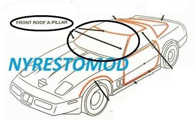 84-96 Corvette C4 Front Windshield Weatherstrip NEW Weather Strip Seal