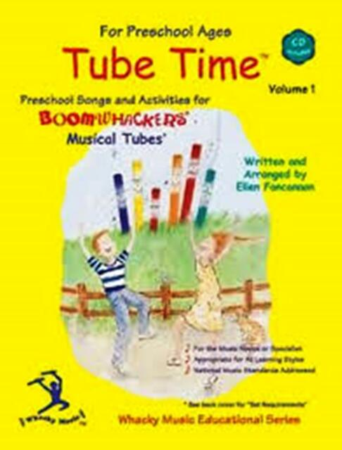 Boomwhackers ETM1 Tube Time with CD Volume 1